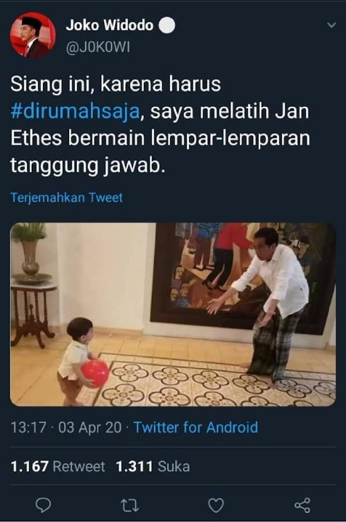 Jokowi DISERANG Akun Parodi