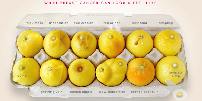 Image result for lemon poster breast cancer