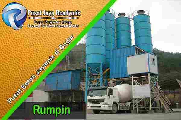 Jayamix Rumpin, Jual Jayamix Rumpin, Cor Beton Jayamix Rumpin, Harga Jayamix Rumpin