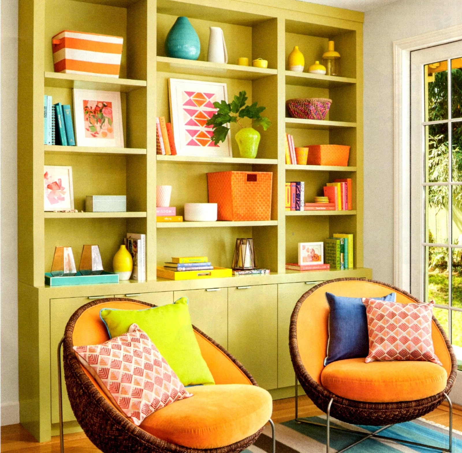 Need a Mood lift? Opt for Boho Happy Colors, Like This Homeowner Did ...