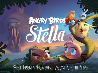 Free download official game Angry Birds Stella for Android .APK Full Data