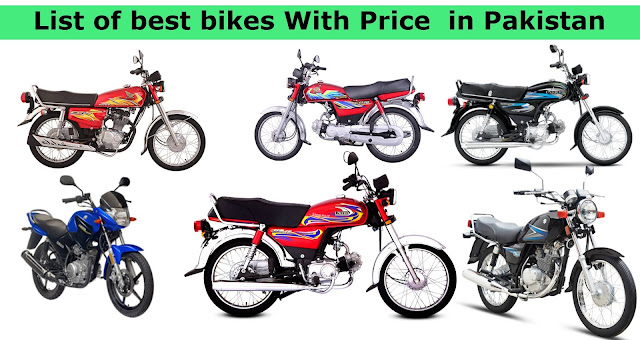 List of best bikes With Price  in Pakistan 2021