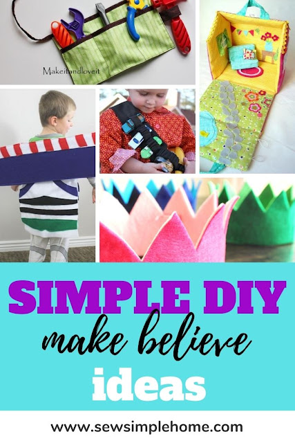 Get some easy dress up box ideas with these fun pretend play tutorials and diy toddler and kids dress up projects.