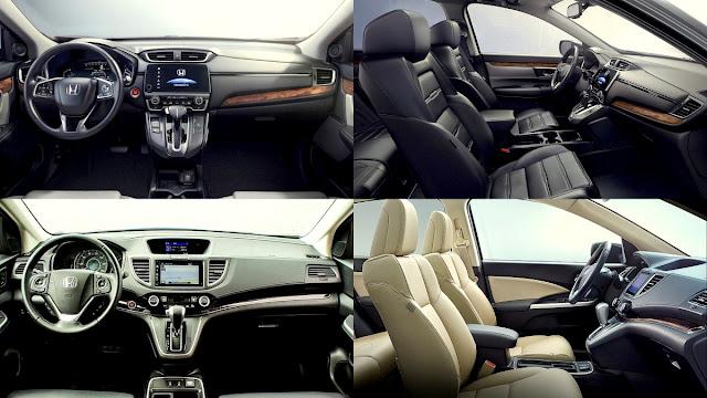 Honda CR-V 2016 (lama) vs 2017 (baru)