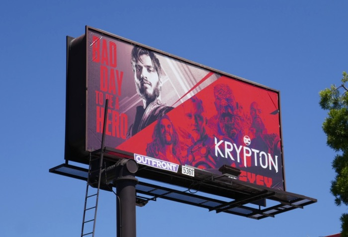 Krypton season 2 billboard