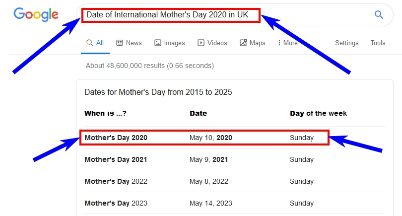 when is mothers day in may 2020