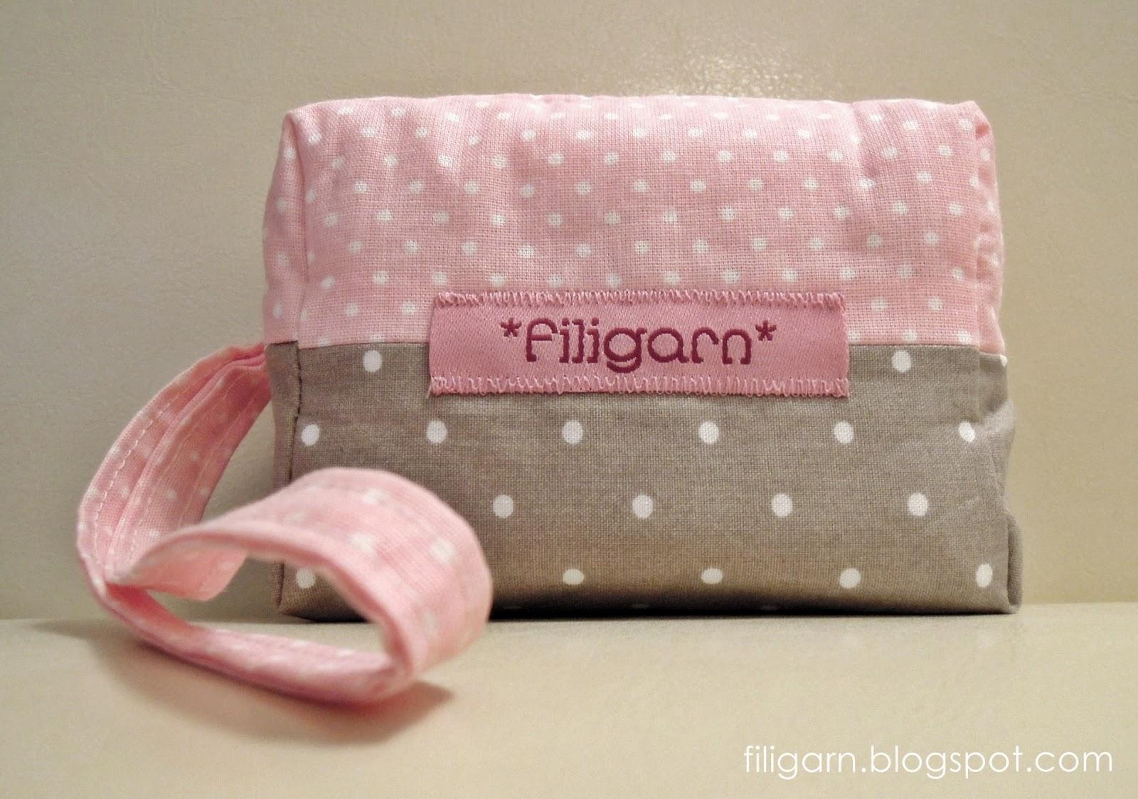 Kameratasche Amelie von filigarn.blogspot.com
