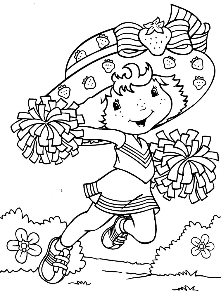 Girls Coloring Pages For Kids