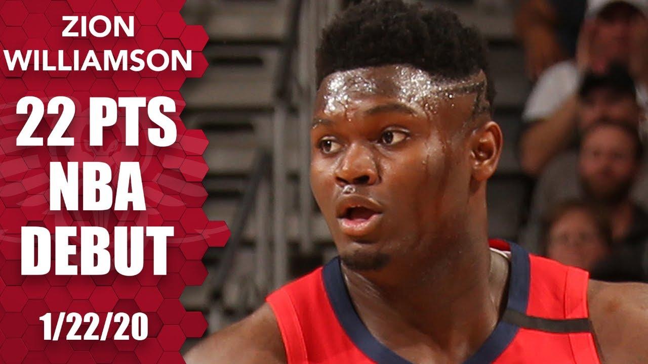 Zion Williamson 22pts 7reb vs SAS | January 22, 2020 | 2019-20 NBA Season