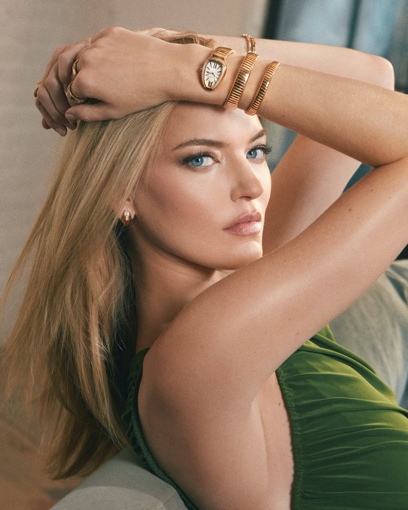 Bulgari taps Martha Hunt for campaign announcing her as a brand ambassador