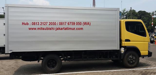mitsubishi colt diesel box alumunium 2019