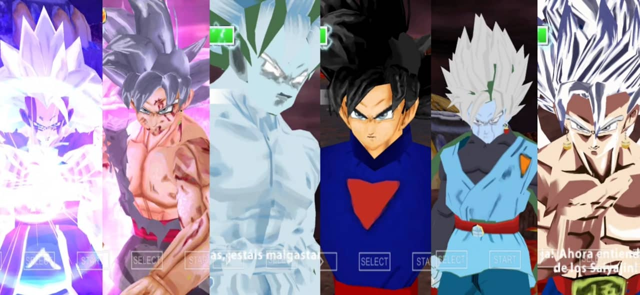Dragon Ball Super Mastered Ultra Instinct Transformation
