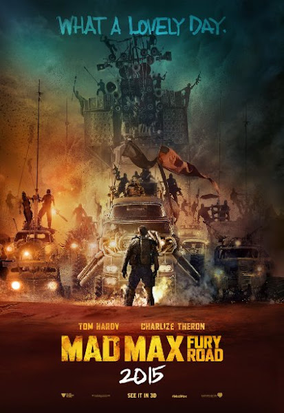 Poster Of Mad Max Fury Road 2015 720p BluRay Dual Audio