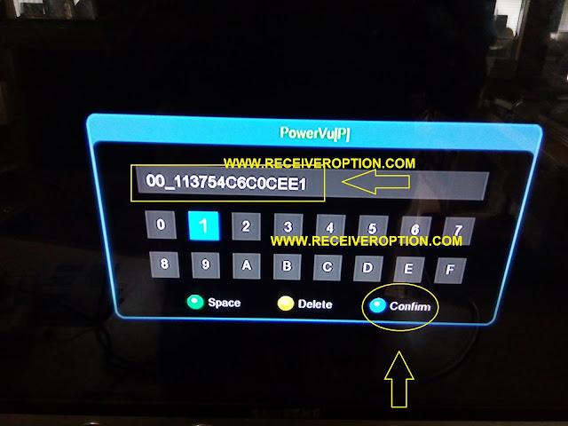 ECHOLINK 9090 HD RECEIVER POWERVU KEY SOFTWARE