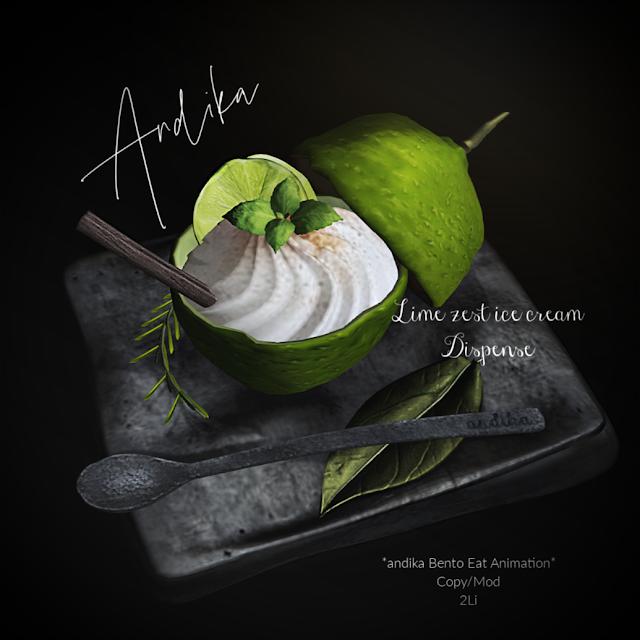 andika Group Gift[LimeZest ice cream]Dispenser