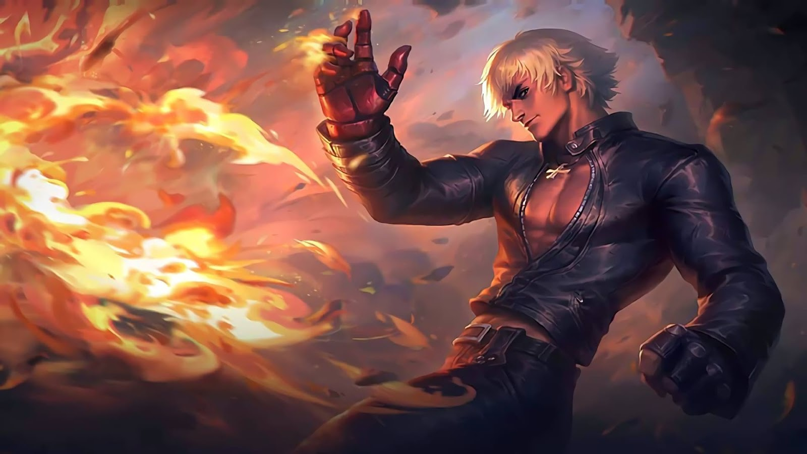 Wallpaper Gusion K' KOF Skin Mobile Legends HD for PC