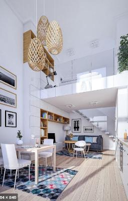 Contoh Desain Rumah Masa Kini Terbaru dan Asri