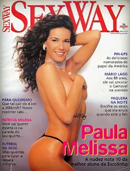 Paula Melissa pelada