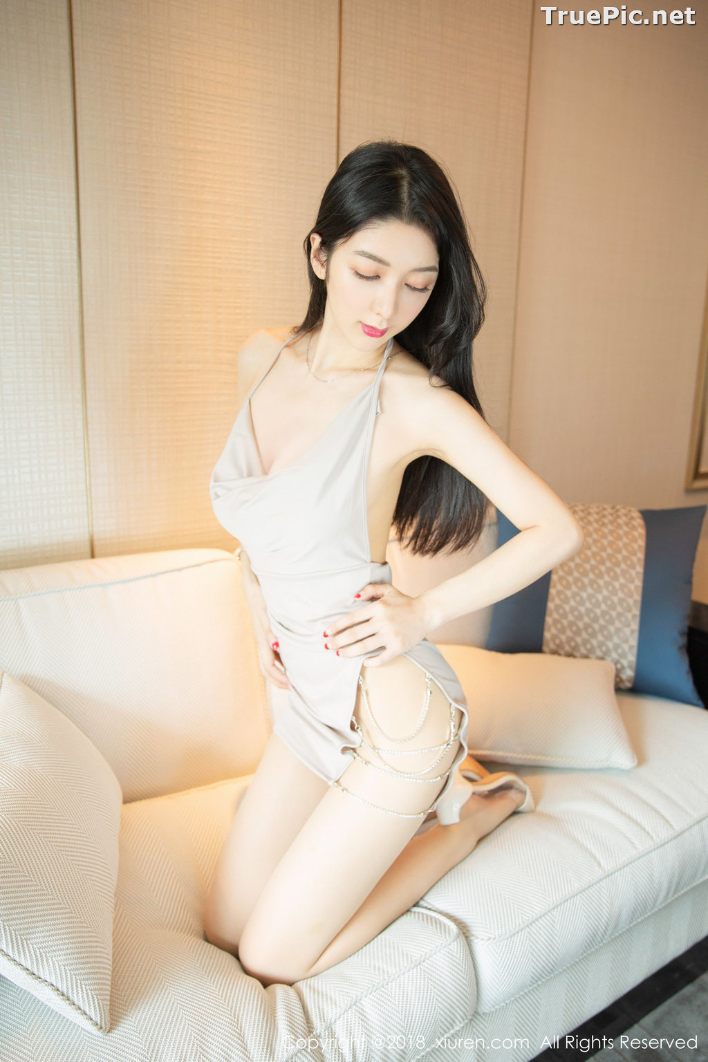 Image XIUREN No.1141 - Chinese Model - Xiao Reba (Angela小热巴) - Sexy Dress Tonight - TruePic.net - Picture-22