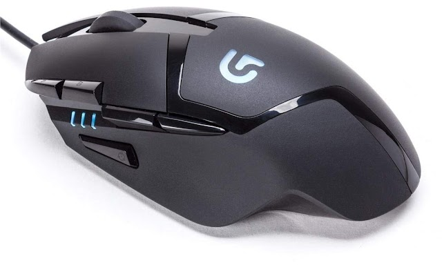 Logitech G402 Hyperion Fury Optical Gaming Mouse With 8 Programmable Buttons