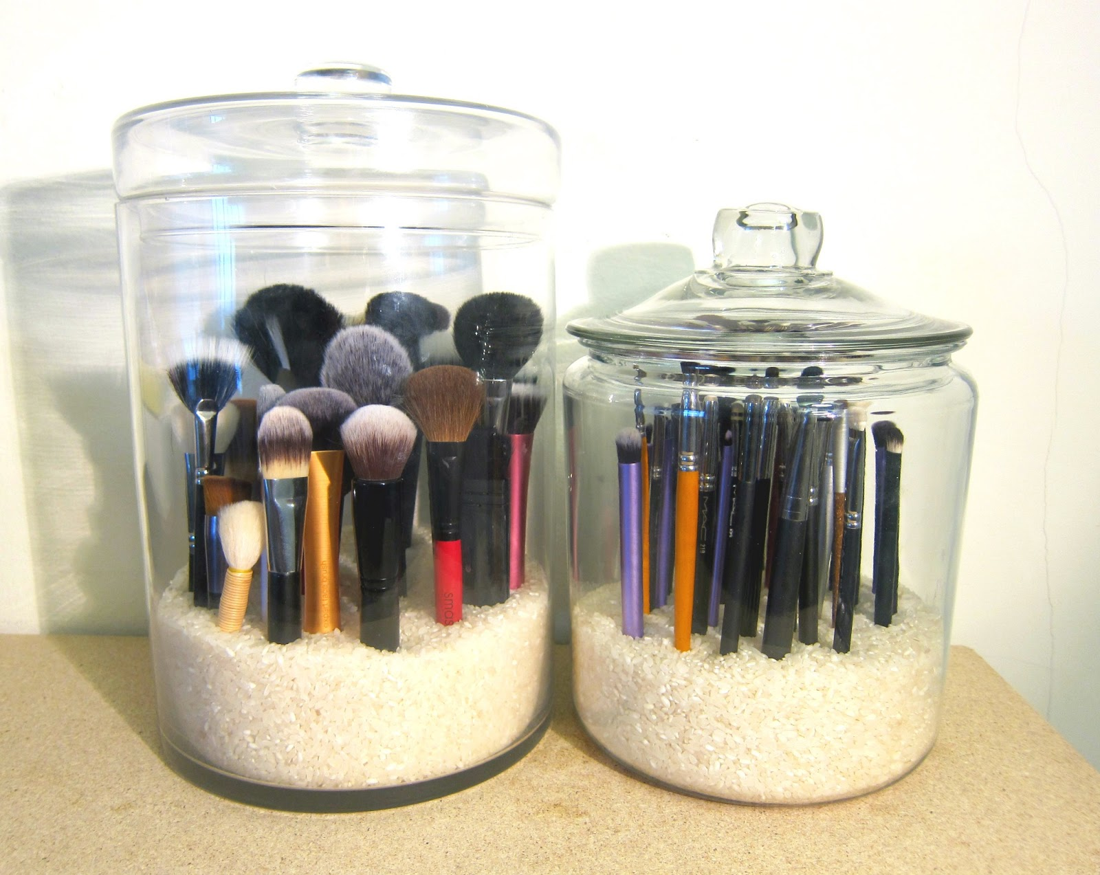 Makeup Storage Containers Procrastinating Pretty Brush Storage
