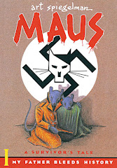 Cover of Maus I - My Father Bleeds History Graphic Novel