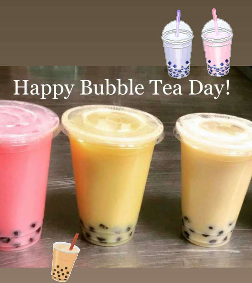 National Bubble Tea Day Wishes Images download