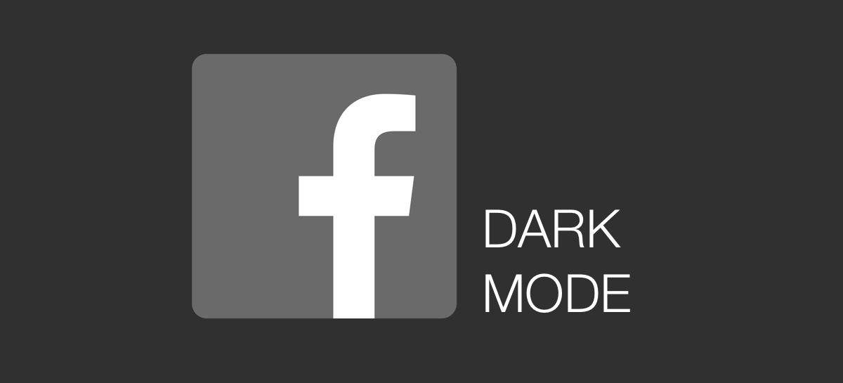Como ativar o moto escuro no seu Facebook [Dark Mode]
