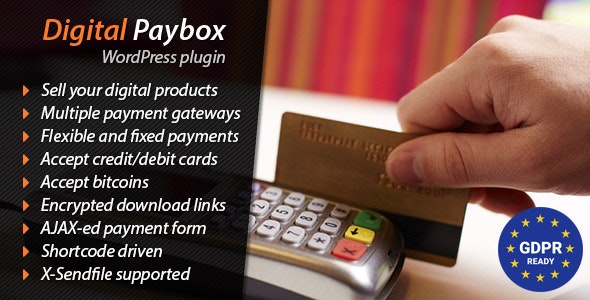 Digital Paybox is yet one more premium plugin