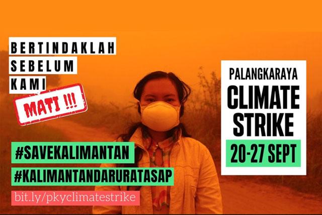Palangka Raya Climate Strike