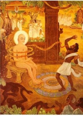 भगवान महावीर और गौशालक द्वारा तेजोलेश्या से हमला