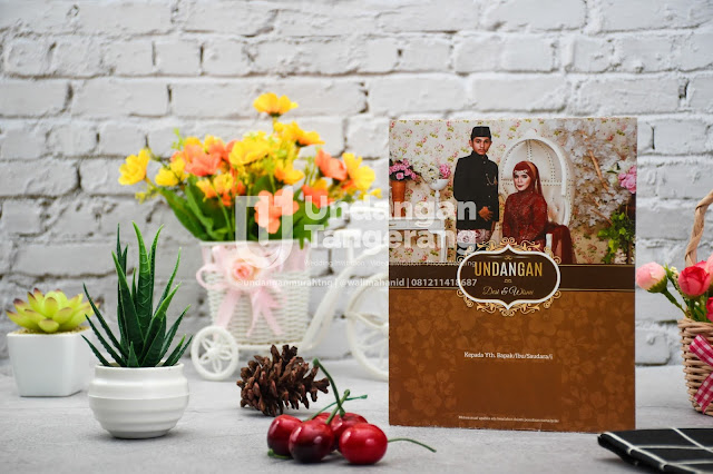 Undangan Pernikahan Murah di Tangerang Softcover A03 - Walimahanid