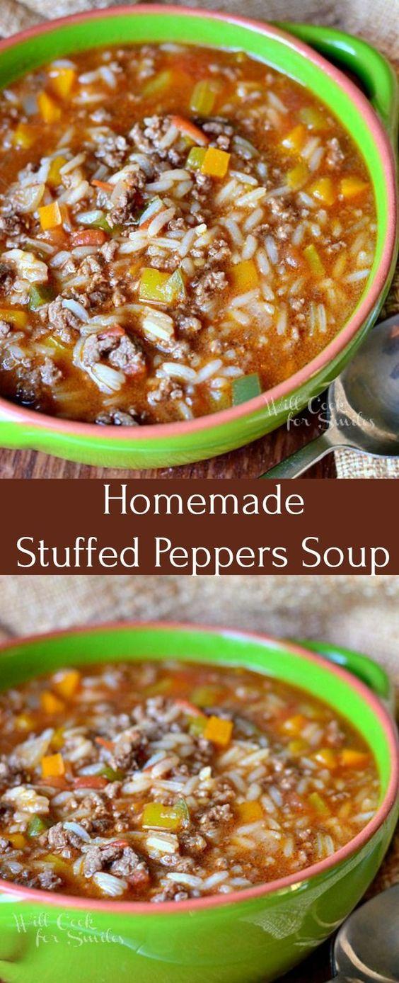 Stuffed Peppers Soup