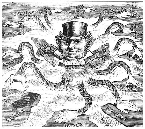 imperialism cartoon - photo #6
