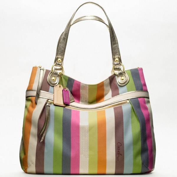 ... amazon coach poppy legacy stripe glam tote 19021 8cb89 900f3 552f77ef4b732