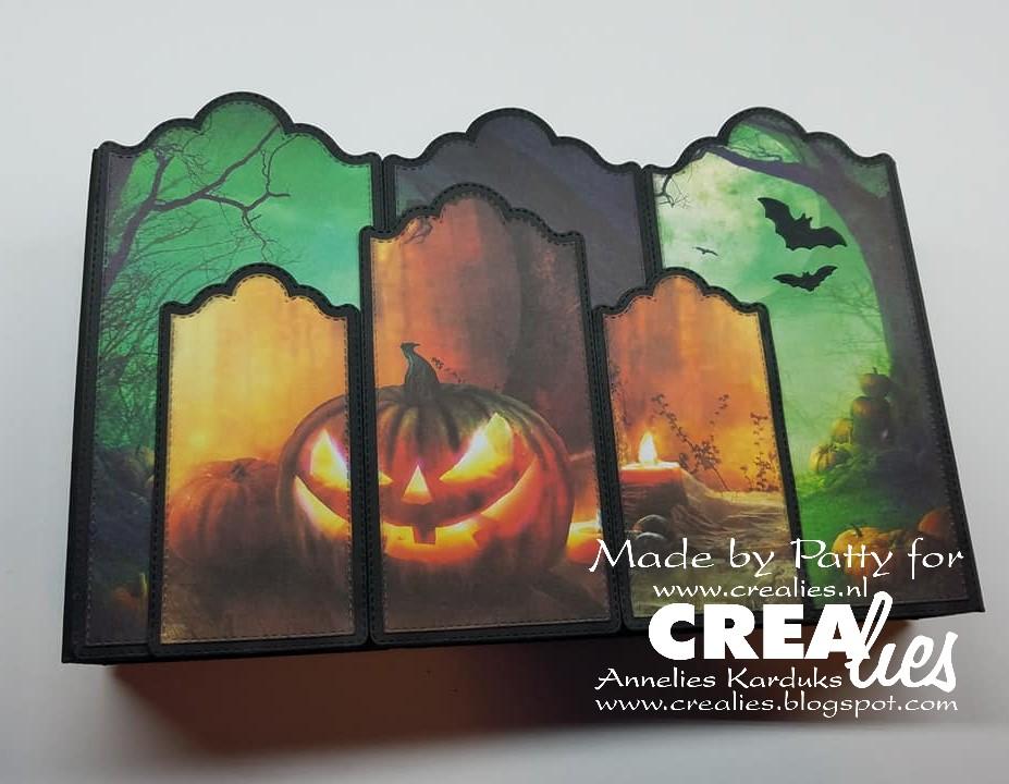 Dag Halloween.Crealies Blogestafette Dag 3 Day 3 Halloween Album