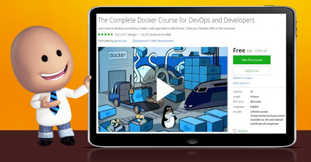 [100% Off] The Complete Docker Course for DevOps and Developers| Worth 25$