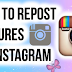 How to Repost Instagram Photos (update)