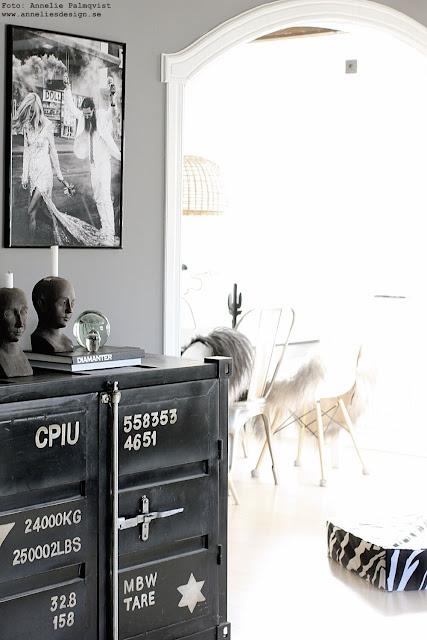 annelies design, webbutik, nätbutik, webbutiker, webshop, kök, köket, barista, tavla, tavlor, poster, psoters, fjäderblomma, fjäderblommor, svart, svarta, hassel, ormhassel, vas,