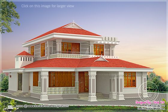 Beautiful Kerala home