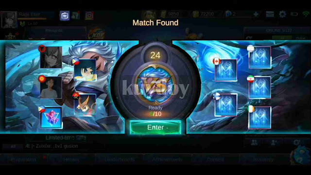 Download Script Matching Background Mobile Legends Terbaru