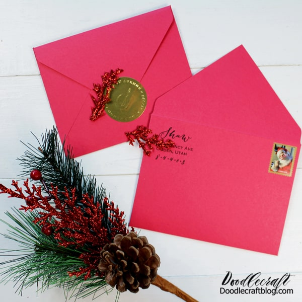 All I want to do is decorate envelopes! Do you like the stamp or the embosser the best?