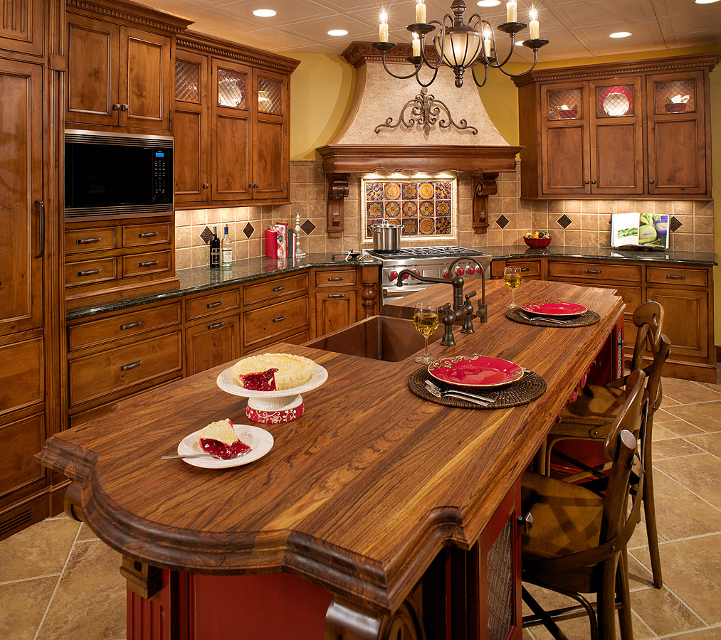 Knotted Oak Kitchen Cabinets: Kitchen Trends: Knotty Alder Kitchen Cabinets