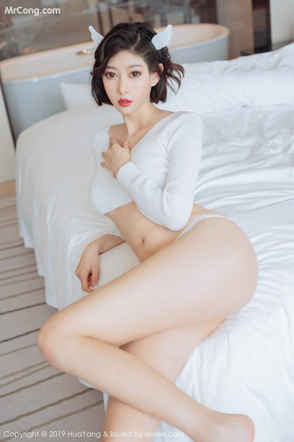Image HuaYang-Vol.167-Yi-Xuan-MrCong.com-003 in post HuaYang Vol.167: Yi Xuan (艺轩) (51 ảnh)