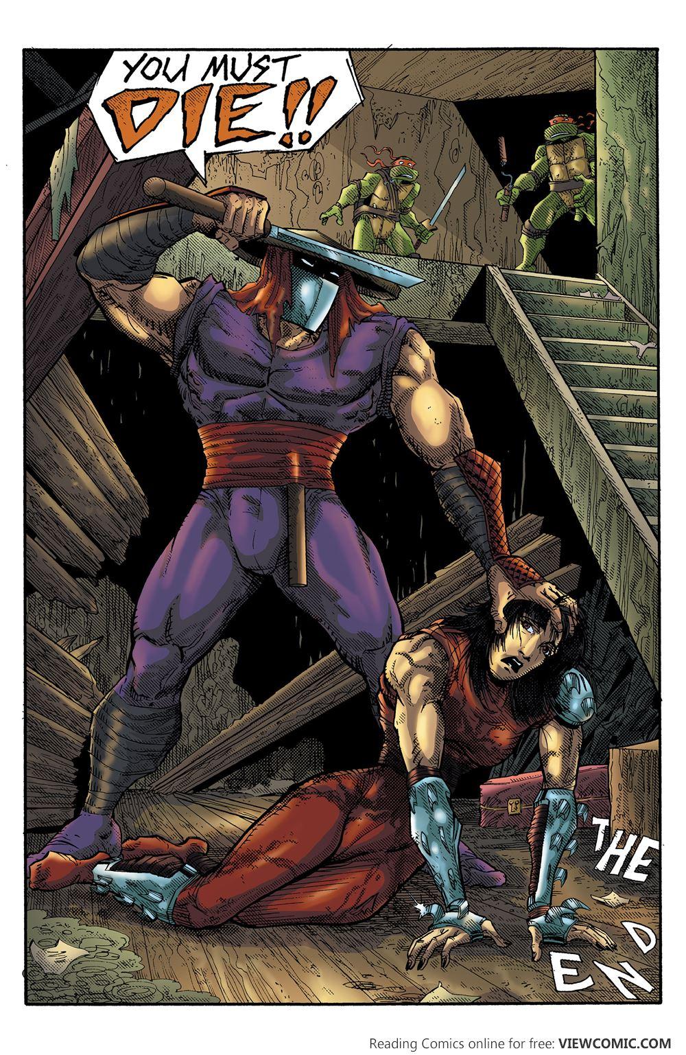 teenage mutant ninja turtles color classics viewcomic reading