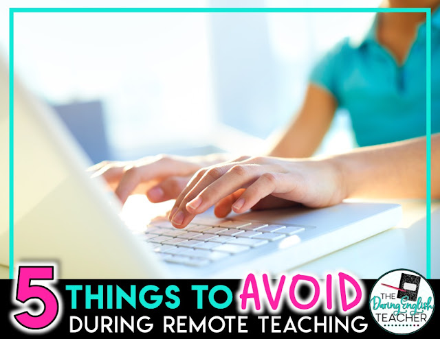 5 Things to Avoid While Remote Teaching