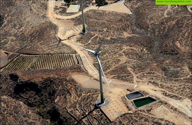 Grafcan incorpora información sobre 216 parques eólicos de Canarias en su visor web