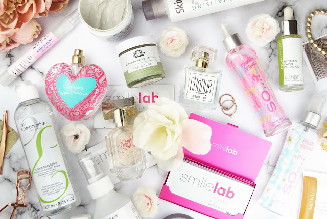 My Fave Skincare & Fragrance Discoveries of 2017 Flatlay, Lovelaughslipstick Blog