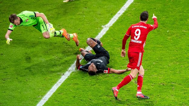 ملخص مباراة بايرن ميونخ وباير ليفركوزن (2-1) اليوم السبت في الدوري الالماني