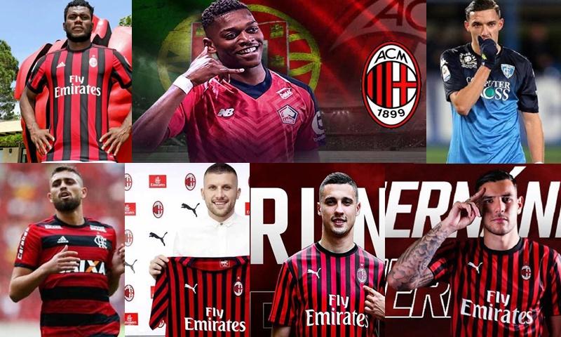 7 Pemain Baru AC Milan - IGACMILAN